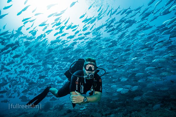 Gili Diving Broken Compass