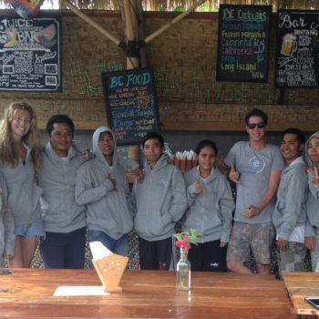 The_Broken_Compass_Gili_Trawangan_Welcome_Team