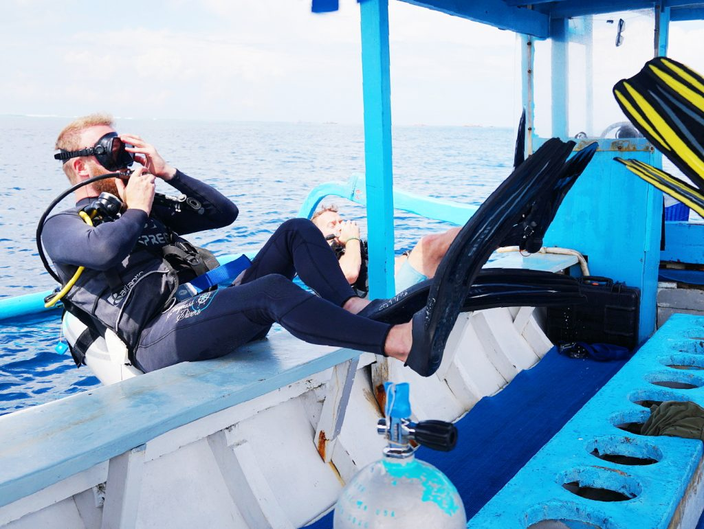 compass divers scuba diving gap year skill